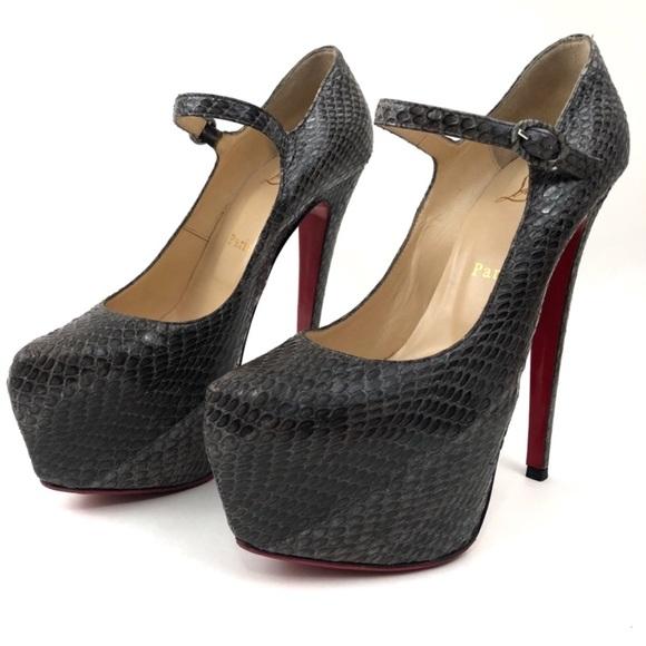 ebe4b0b6ab8 Christian Louboutin Shoes - Christian Louboutin lady Daf platform pumps
